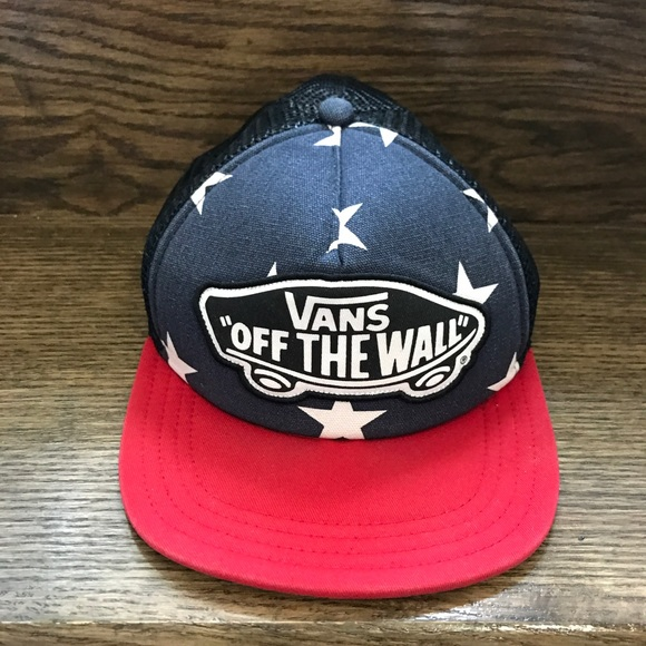 9633a3a5fcc Vans Off the wall Stars   Stripes SnapBack Hat. M 5adab0b2a4c485c73d028ae1